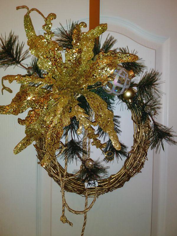 Designer Christmas wreaths