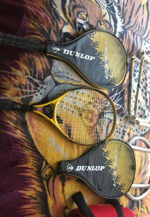 Dunlop tennis rackets for Sale in Turlock, CA