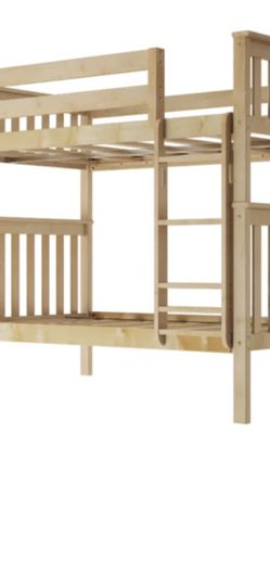 Maple Bunk Beds With Mattresses for Sale in San Carlos,  CA