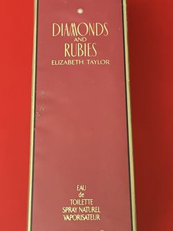 Diamonds And Rubies Elizabeth Taylor Perfume New Sealed for Sale in Los Angeles,  CA