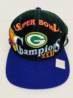 Vintage Green Bay Packers Super Bowl XXXI New Orleans Snapback Hat, Logo 7 for Sale in Renton, WA