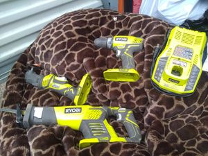 Ryobi tools just need a battery for Sale in Kansas City, MO