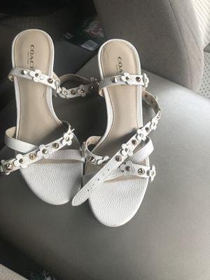 Brand new women's Coach sandals size 6 for Sale in Burke, VA