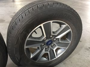 Ford F-150 wheels and Tires No sensors 3 wheels for Sale in Land O Lakes, FL