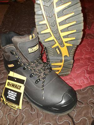 DeWalt steel toe work boots size 10 for Sale in King, NC