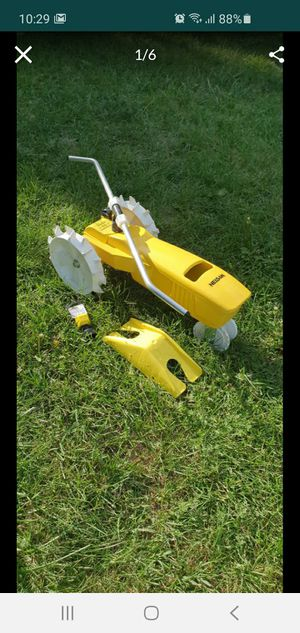 Nelson 1865 Raintrain Traveling Tractor Sprinkler With Automatic Shut off for Sale in St. Clair Shores, MI