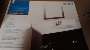 Style selections Vanity top for Sale in Parkersburg, WV