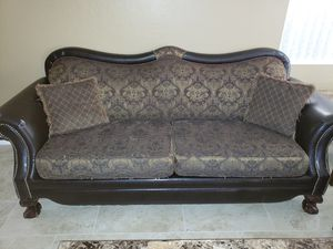 2 couches with coffee table and 2 small tables used for Sale in El Mirage, AZ