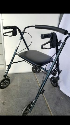 Steel Rollator Walker, Folding Rolling Walker, for Sale in Las Vegas, NV