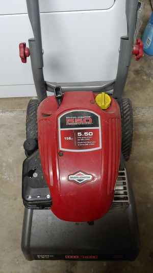 Craftsman 5.5 hp 2200 psi pressure washer for Sale in Austin, TX