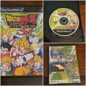 PS2 DBZ Budokai Tenkaichi 3 **Repro** for Sale in Compton, CA
