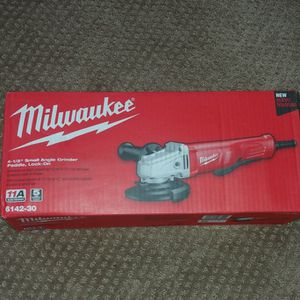 """NEW Corded Mikwaukee 4-1/2"""" Small Angle Grinder Paddle, Lock-on for Sale in Tacoma, WA"""
