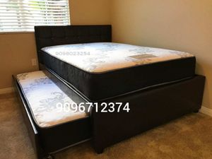 FULL/TWIN TRUNDLE BEDS W MATTRESSES INCLUDED. for Sale in Corona, CA