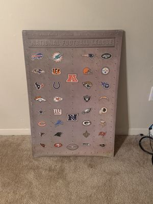 NFL wall poster for Sale in Fort Wayne, IN