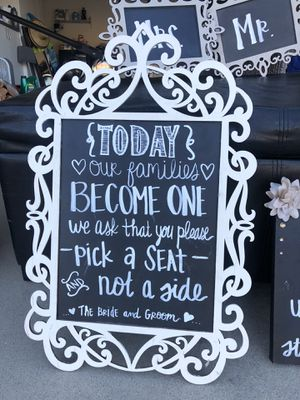 Wedding decorations for Sale in Temecula, CA