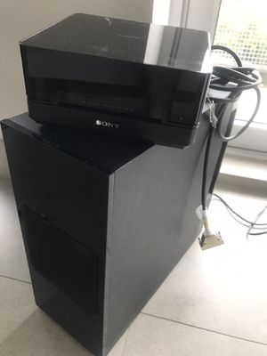 Sony Dvd system with subwoofer for Sale in Houston, TX