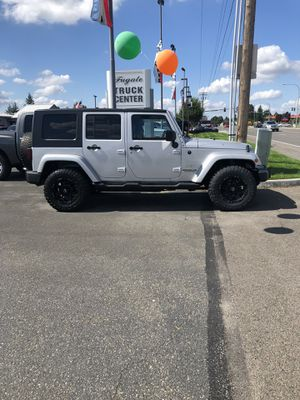 2008 Jeep Wrangler Unlimited Sahara for Sale in Enumclaw, WA