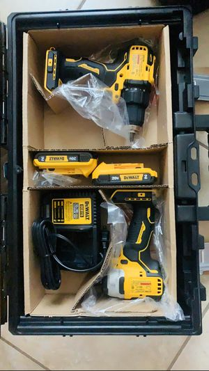 Dewalt atomic drill and impact brushless 20v Max New for Sale in Brownsville, TX