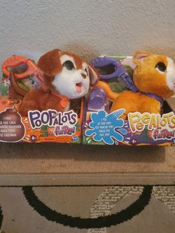 New FurReal Pets Set Of 2 ($36 Value) for Sale in Ripon,  CA