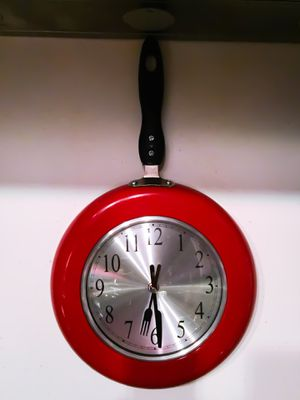 Brand New! Frying Pan Kitchen Wall Clock for Sale in Las Vegas, NV