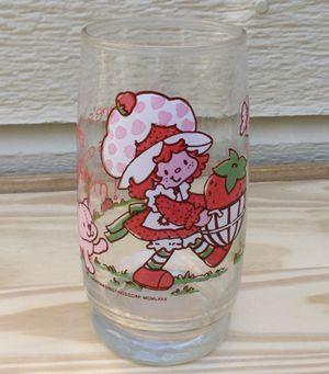 Vintage 1980 Strawberry Shortcake Glass for Sale in Fresno, CA