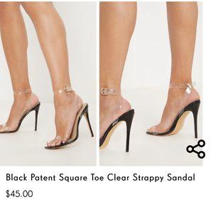 PLT clear heels for Sale in El Monte, CA