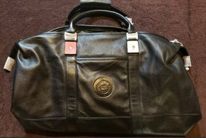Cubs Leather Duffle Bag for Sale in Joliet, IL