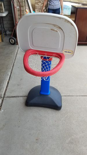 Little Tikes basketball hoop. Outdoor toys. Indoor toys. Basketball game. Kids games. 67th Avenue and Peoria Road for Sale in Glendale, AZ