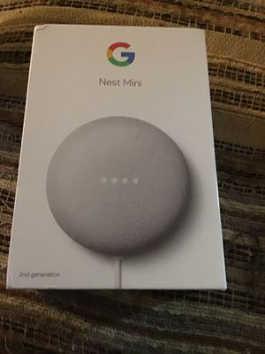 Google nest mini new in box for Sale in Akron, OH