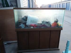 100 gallon fish tank for Sale in Oklahoma City, OK