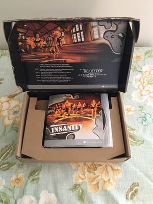 Insanity workout set for Sale in Montgomery, AL