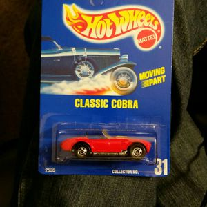 1991 HotWheels Classic Cobra Hot Rod Red for Sale in Minneapolis, MN