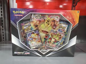 Sword & Shield Meowth VMAX Special Collection Pokemon Box *MINT* for Sale in Rutherford, NJ