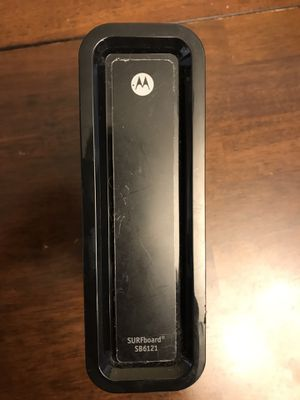 Motorola SB6121 DOCSIS 3.0 Cable Modem for Sale in Philadelphia, PA