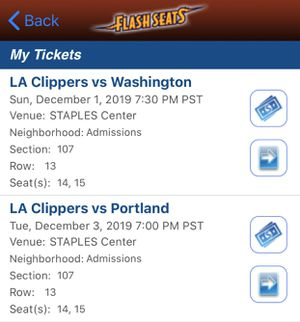 CLIPPERS TICKETS for Sale in Los Angeles, CA