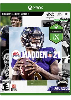 Madden NFL 21 Xbox One Video Game for Sale in Scottsdale,  AZ