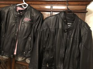 His and her Harley Davidson jackets for Sale in Gainesville, VA