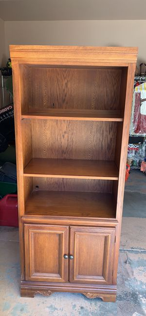 American Signature Oak Bookshelves for Sale in Suwanee, GA