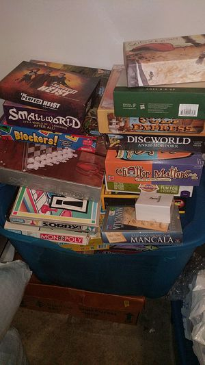 Assorted Board games! for Sale in Arlington, VA