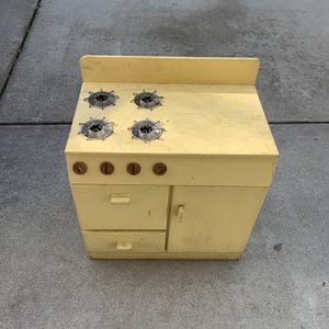 Handmade Play Stove for Sale in Cottonwood, CA