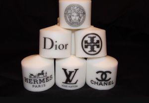 Beautiful custom made designer logo candles for Sale in Hialeah, FL