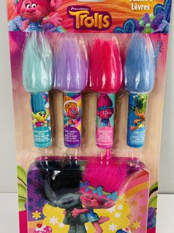 Brand New Trolls Lip Balm Set for Sale in Channahon,  IL