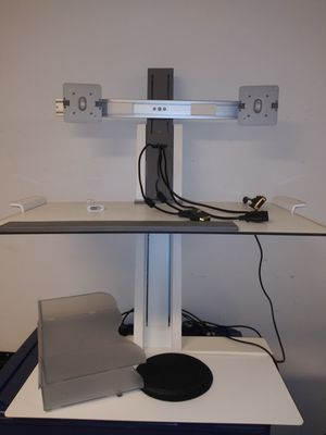 Dual monitor sit and stand for Sale in Columbus, OH
