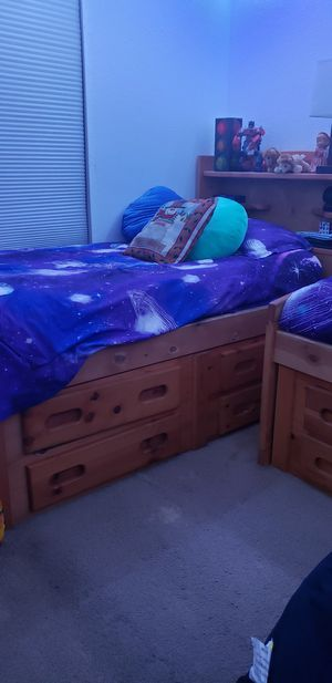 Two Twin size beds for Sale in Las Vegas, NV