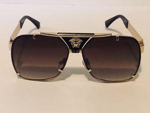 Brown Versace Polarized Sunglasses Medusa Designer Luxury for Sale in Lawrenceville, GA