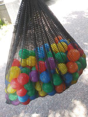 Bag of plastic balls for Sale in Saint Petersburg, FL