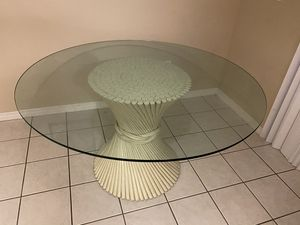 Antique Table and 4 Chairs for Sale in Zephyrhills, FL