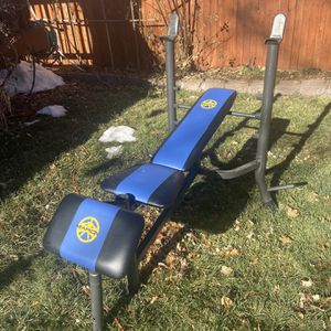 Adjustible Marcy Bench for Sale in Arvada, CO