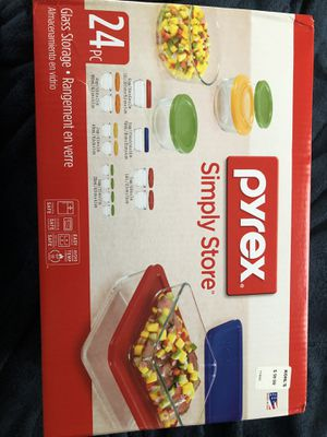 Pyrex 24 piece New for Sale in Strongsville, OH