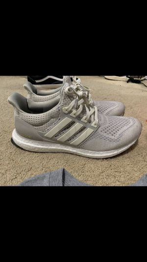 Adidas Cream Chalk Ultra Boost Size 9.5 for Sale in San Diego, CA